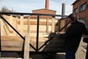 31.03.2010 Beginn der Patinierungsarbeiten