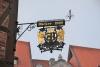 Besonders schöner Ausleger für das Bäckeramtshaus in Hildesheim am historischen Marktplatz