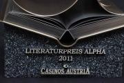 Alpha Award aus hochwertigem Messing und gelasertem Edelstahl
