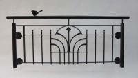 franz balkone mit einem geschmiedetem schmuckornament online kaufen. Black Bedroom Furniture Sets. Home Design Ideas