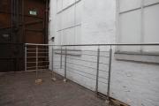 36 Meter Edelstahlgeländer mit Relingstäben durften wir nach Hamburg liefern
