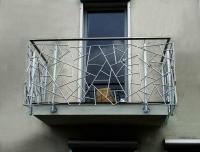 Balkongeländer, Füllung in Schmitzstruktur