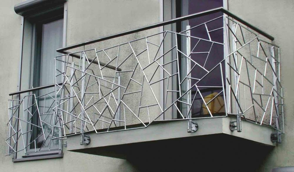 sch nes balkongel nder in schmitzstruktur. Black Bedroom Furniture Sets. Home Design Ideas