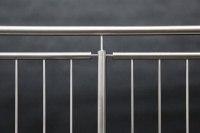 Der Klassiker - Edelstahl Geländer mit senkrechten Stäben