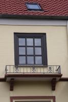 Französische Balkone aus Schmiedeeisen