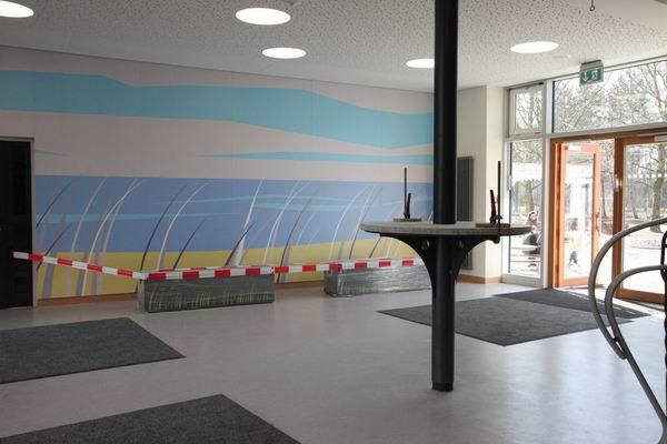 bank aus stahl und tisch aus stahl und beton. Black Bedroom Furniture Sets. Home Design Ideas
