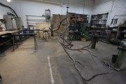 Bronzebaum im Atelier