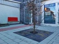 Vierteilige Baumscheibe für das Standesamt in Algermissen