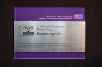Bayernsieger 2011, Preis des Bayerischen Staatsministerium für Arbeit und Sozialordnung, Familie und Frauen