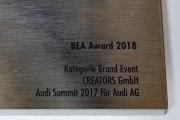 Der nunmehr 14. Bea Award wurde 2018 vergeben