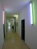 Beleuchtung mit RGB - rot grün blau mischt sich zu weißem Licht