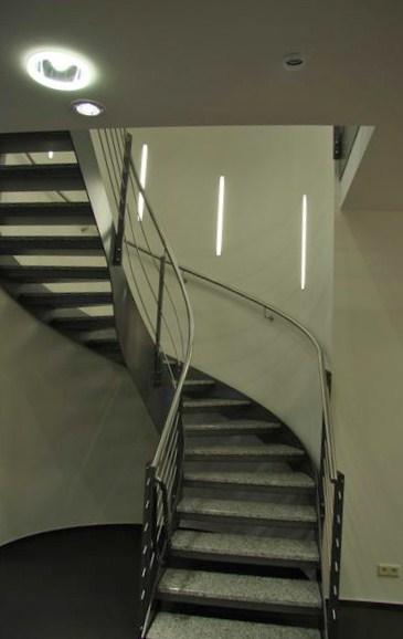 treppenhausbeleuchtung f r die stadtinformation in hildesheim. Black Bedroom Furniture Sets. Home Design Ideas