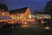 Am 19. Dezember wurde die Beleuchtung des Weltkulturerbes Michaeliskirche offiziell übergeben.