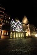 Light Night in Hildesheim 2010 - Hier noch die Beleuchtungsprobe