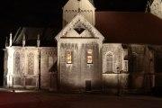Probebeleuchtung der St. Marien Kirche in Freyburg
