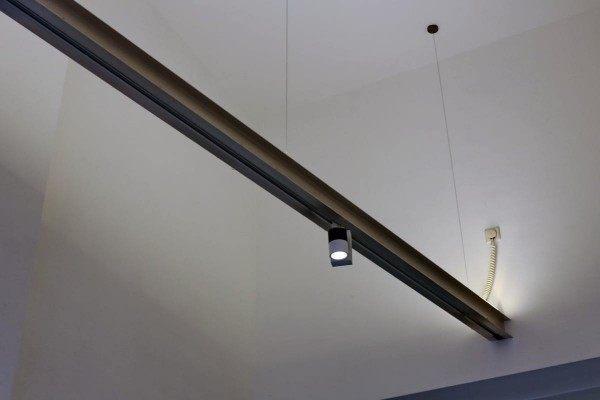 Licht Element im Eingangsbereich