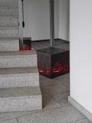 Lichtwürfel für den Eingangsbereich der Bettels Holding in Hildesheim