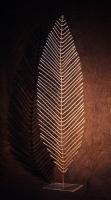 Feingerippte Blätter aus 5 mm Rundeisen geschweißt