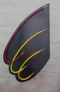 Sonderanfertigung von Neonleuchten auf einem 3 mm Stahlblech