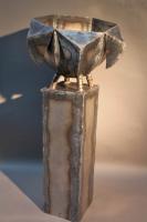 Tilda - Pflanzgefäß aus dünnen Stahlblech geschweißt