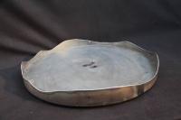 Ascheschale aus Blech für eine Feuerschale