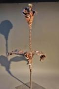 Blume aus Kupferfolie