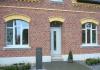 Briefkastensäule aus Stahl oder CorTenStahl - nimmt im Laufe der Zeit eine schöne, rostige Patina an