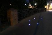 Beleuchtung der Brücke an der Westcellertorstraße in Celle