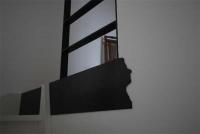 Schiller aus Stahl gelasert, Verkleidung aus klar lackiertem 3mm Stahlblech Verkleidung aus gelasertem und klar lackiertem 3mm Stahlblech