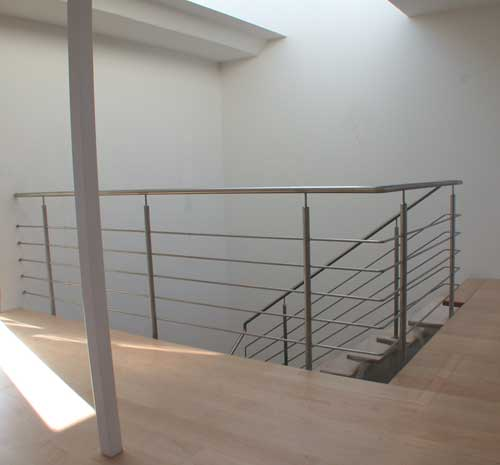 treppen und br stungsgel nder aus edelstahl preis per lfm. Black Bedroom Furniture Sets. Home Design Ideas