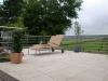 Terrassengeländer aus verzinktem Stahl mit Edelstahl Handlauf - Edelstahlgeländer, Preis per lfm. Meter
