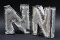 Einzelbuchstaben autogen geschweißt
