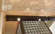 Beleuchtung des Buffet in der Gästeresidenz Pelikan