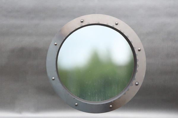 zweiteiliges Bullauge aus Stahl
