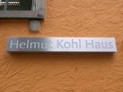 Leuchtschrift CDU Geschäftstelle in Hildesheim
