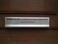 Briefkastenklappe aus Edelstahl