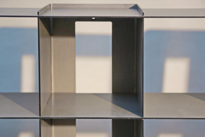 cd regal aus glas amazing regal asper aus metall und glas in modernen industrial design with cd. Black Bedroom Furniture Sets. Home Design Ideas