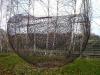 Riesige doppelwandige Skulptur aus Stahl in 4 Meter Durchmesser