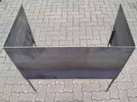 Hochbeet aus Corten Stahl