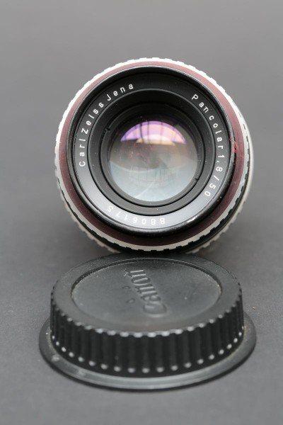 Carl Zeiss Jena Pankolar Objektiv 1,8/50 mm