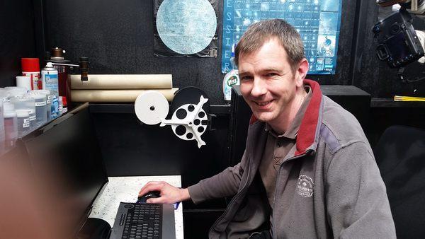 Carsten Meyer hat die Sternwarte an den neuen NAS Server angebunden