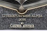 Literaturpreis Alpha 2016 der Casinos Austria