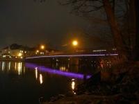 dynamische Lichtinszenierung für die Pfennigbrücke in Celle