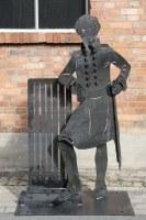 Eine weitere Skulptur für die Landesgartenschau 2018 in Burg