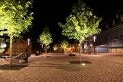 Beleuchtungsplanung für öffentliche Plätze