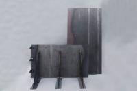 Wand für einen Garten aus Corten Stahl um einen Hang abzufangen, bzw Cor-Ten Stahl für ein Hochbeet