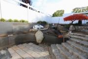 Gartengestaltung mit Wänden aus CorTen Stahl