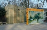 WC mit Elefanten Sichtschutz