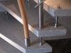 Edelstahlgeländer mit geschwungenem Holzhandlauf aus Buche