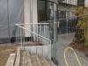 Brüstungs Geländer für Thega Filmpalast in Hildesheim aus Stahl verzinkt